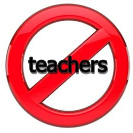 no teachers