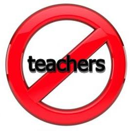 no teachers