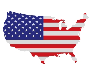 United-States-with-American-Flag