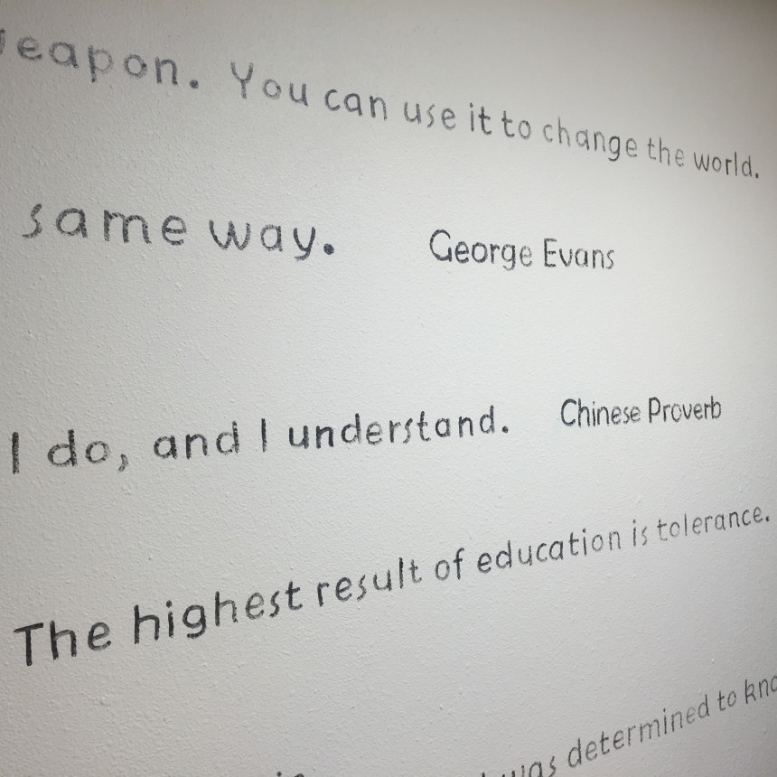 Quotes in the library