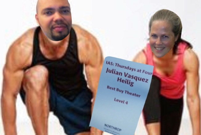 Julian Vasquez Heilig and Sarah Lahm