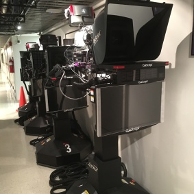 Cameras in hallway