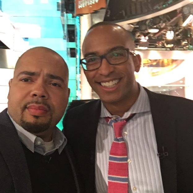 Selfie with Dorian Warren