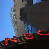 NBC at Rockefeller building