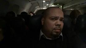Middle seat on return flight :(