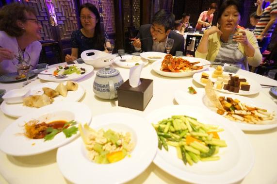Peking Duck restaurant with colleagues