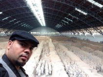 Julian at Terracotta Army