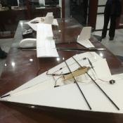 Aerospace class models at Beijing 35