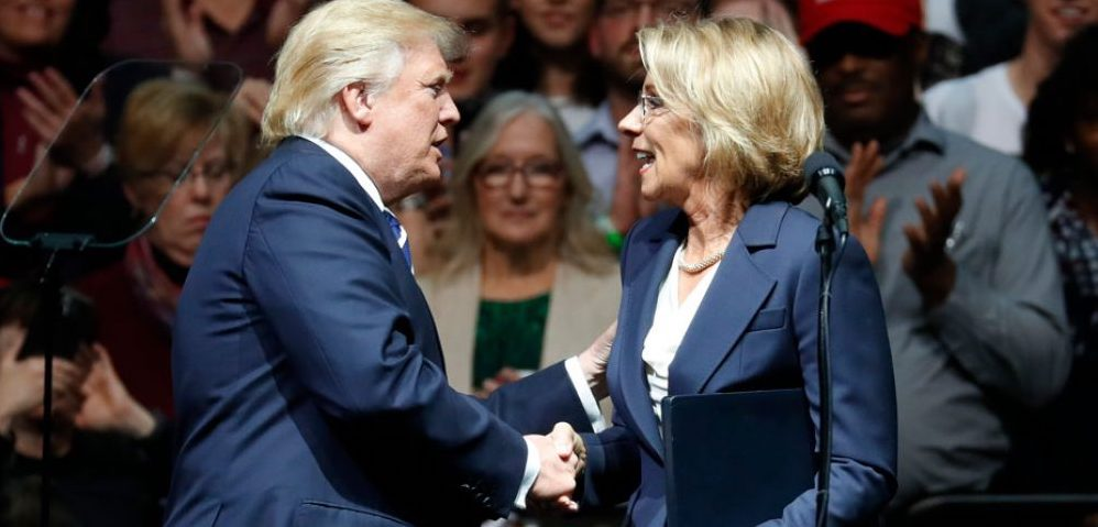 Betsy Devos Nomination Chilling >> Betsy Devos What To Watch For In Her Confirmation Cloaking Inequity