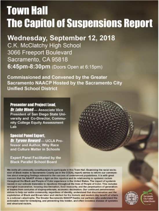 NAACP Community Townhall flyer