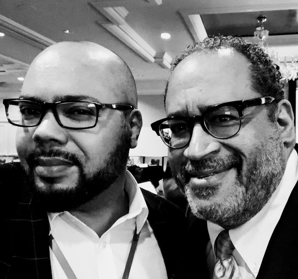 Blogging a few quick thoughts from @MichaelEDyson